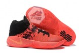 Nike Kyrie 2 Inferno Bright Crimson Atomic Orange Black 819583 680