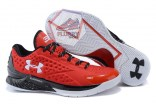 Under Armour Curry One Low Team Red Black White