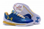 Under Armour Curry One Low Women Blue white home